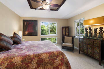 Master Bedroom includes a King bed