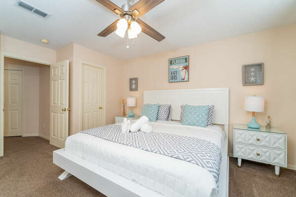 Alternative view of 2nd master bedroom