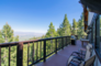 Skier and Lake Tahoe close to Edgewood Beach Delight Game Multiple Private decks with expansive Views