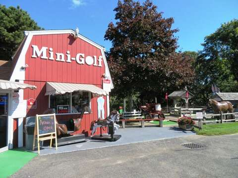 Mini golf and arcade! Approx 3 miles from the house! Eastham Cape Cod - New England Vacation Rentals