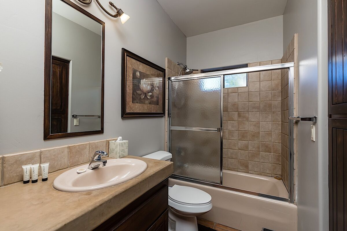 Guest bathroom - Tub/shower combo