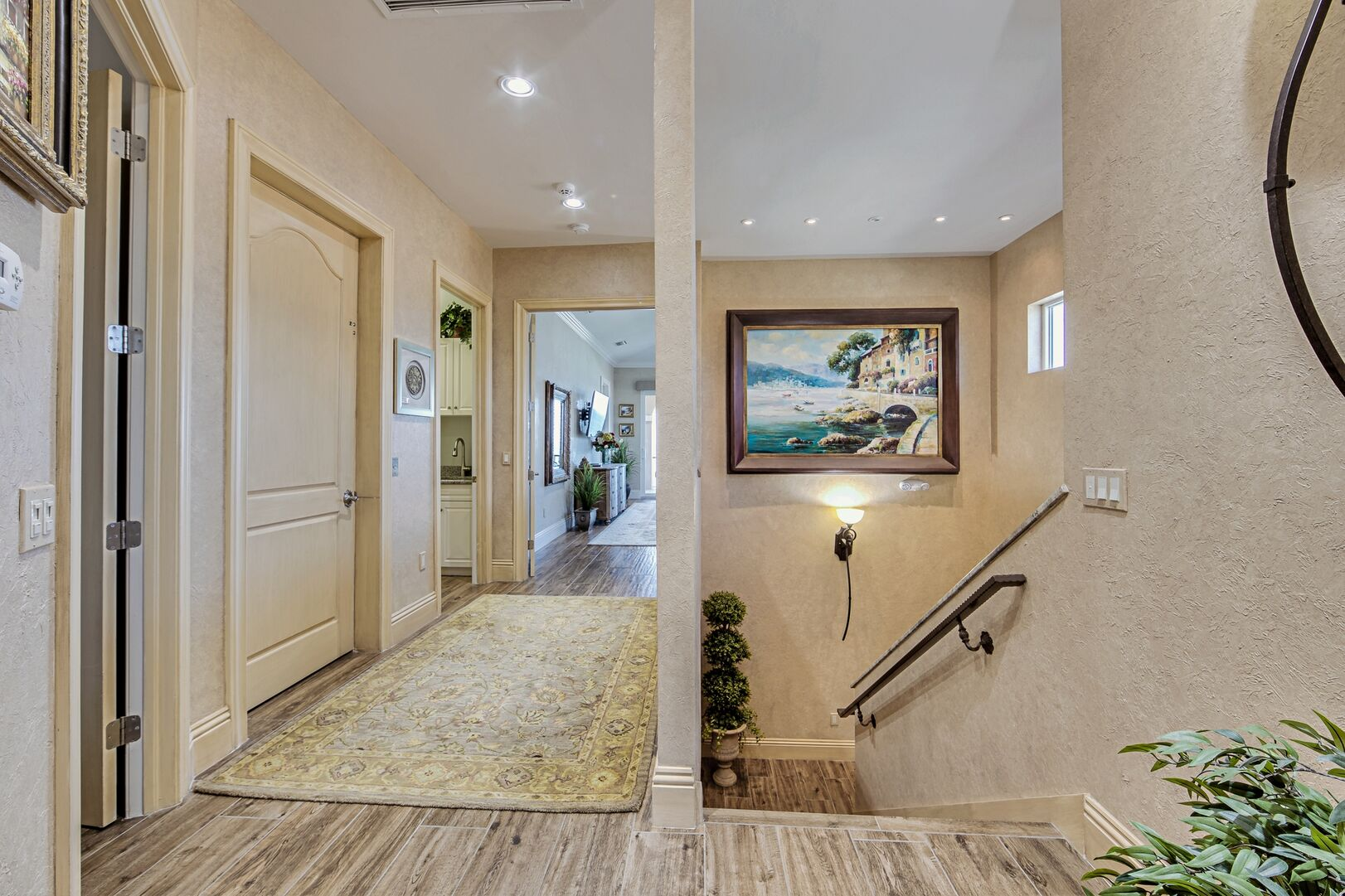 Picture of the Upstairs Hallway of Our Vacation Home in Fort Myers.