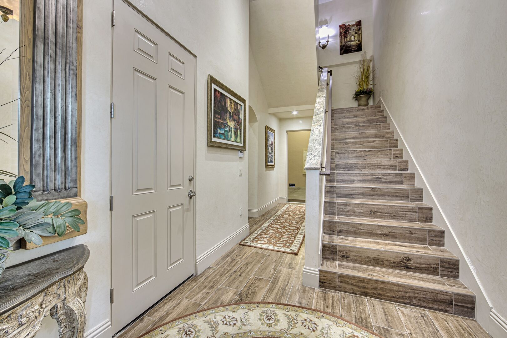 Picture of the Downstairs Hallway of Our Vacation Home.