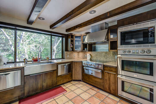 Dual Dishwashers, Double Ovens, and Electric Stove