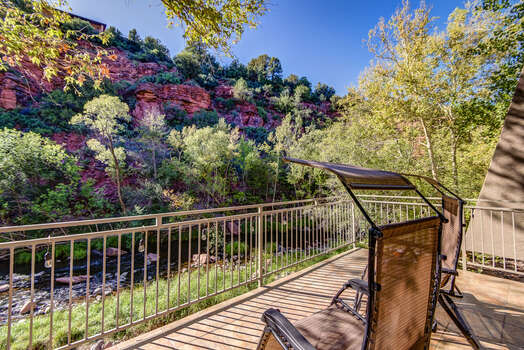 Enjoy the Sounds of Nature While Taking in the Red Rock Views