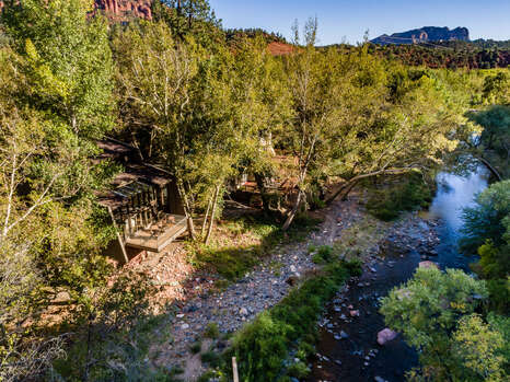 This Property is Actually on an Island - Private Yet so Close to All that Sedona Offers!