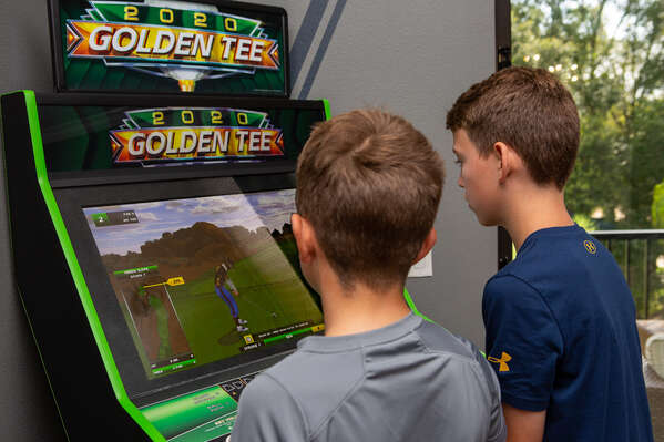 To Golden Tee Arcade game