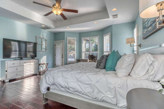 Master Bedroom with a King Bed, 65
