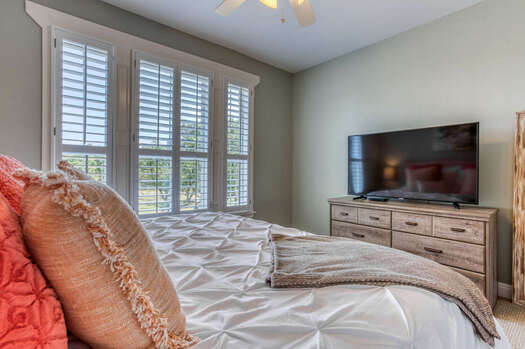 Upper Level King Bedroom 4 with a Luxury King Bed and 55
