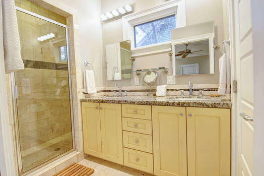 Private Master Bath with Stand Alone Shower