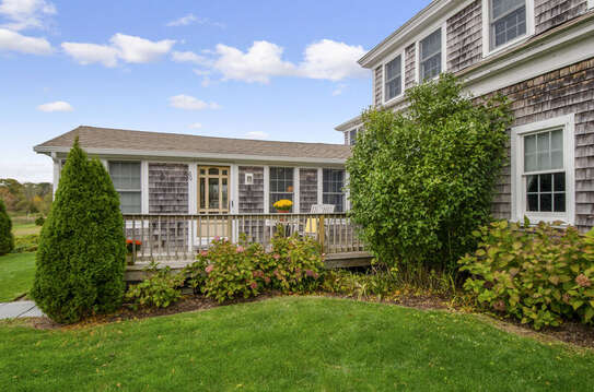 Side entry- easy access from parking area-60 Sisson Road Harwich Port Cape Cod New England Vacation Rentals