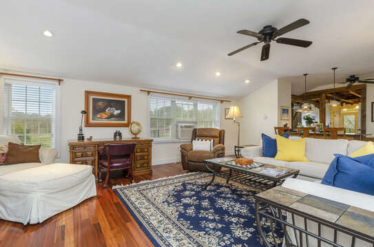 Ceiling fan and A/C unit to keep you cool-60 Sisson Road Harwich Port Cape Cod New England Vacation Rentals