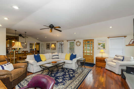 Plenty of seating -60 Sisson Road Harwich Port Cape Cod New England Vacation Rentals