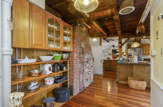 Full pantry - including lobster pot! 60 Sisson Road Harwich Port Cape Cod New England Vacation Rentals