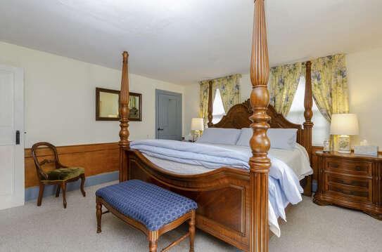 Bedroom 1 with king size bed-60 Sisson Road Harwich Port Cape Cod New England Vacation Rentals