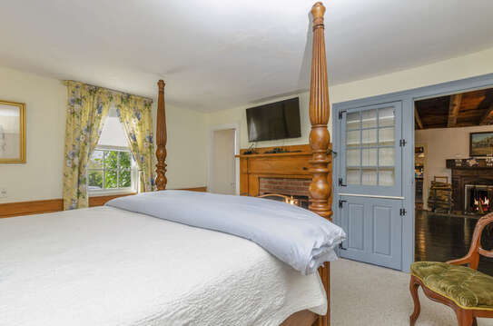 A walk in closet and flat screen TV! 60 Sisson Road Harwich Port Cape Cod New England Vacation Rentals