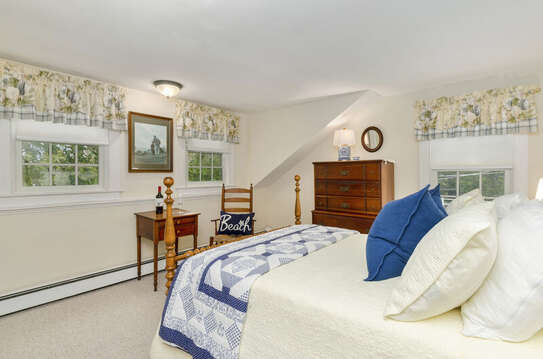 Bedroom 3 with a Queen Bed-60 Sisson Road Harwich Port Cape Cod New England Vacation Rentals