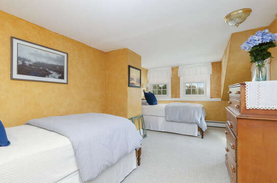 Bedroom 4 with 2 Twin beds-60 Sisson Road Harwich Port Cape Cod New England Vacation Rentals