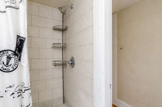 Shower in Bathroom 3 across hall-60 Sisson Road Harwich Port Cape Cod New England Vacation Rentals