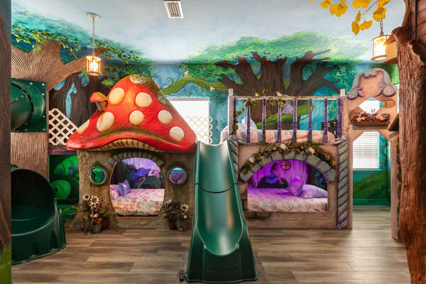 Let your imagination run wild surrounded by fairies and magical creatures