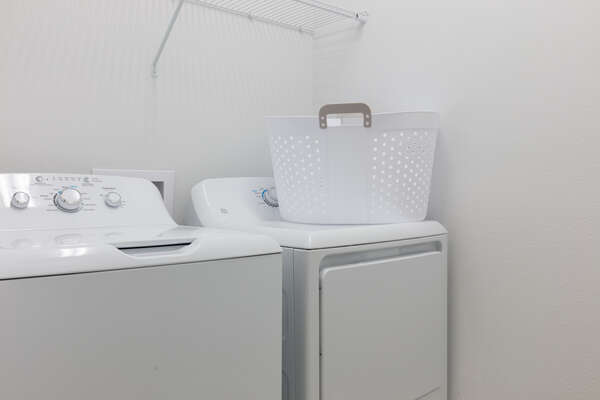 A second laundry room