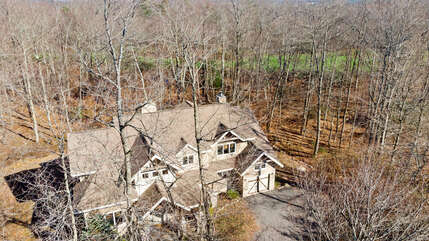 Aerial View of our Tricky Tee Poconos Vacation Rental