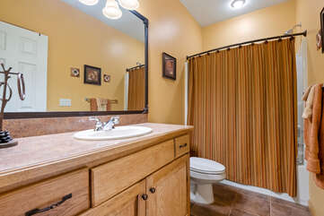 One of the Bathrooms in our Poconos Vacation Rental