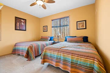 2 Bed Bedroom in the Tricky Tee Poconos Vacation Rental
