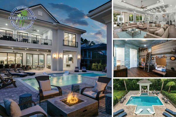 Welcome to Luxury Getaway, an 8 bedroom villa that will wow the entire family. | PHOTOS TAKEN: October 2019