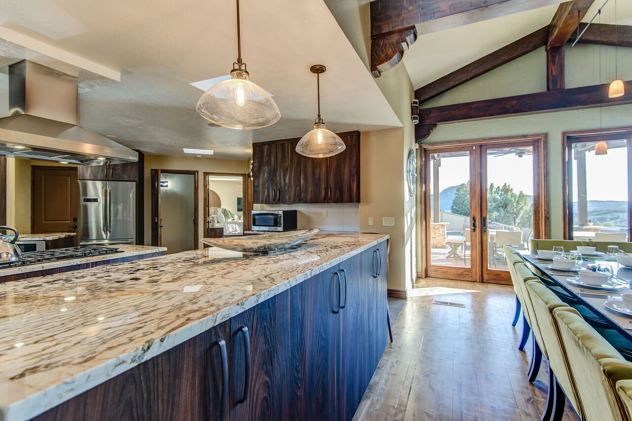 Multiple Stone Counters - Perfect for Meal Prep, Serving and Entertaining