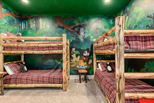 Kids can have a camping adventure