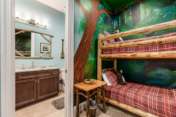 Kids will have their own ensuite bathroom