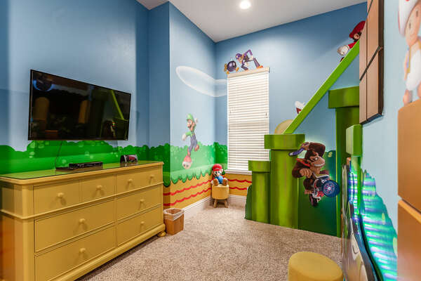 Kids will even have their own TV