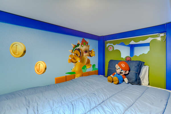 Feel immersed into a video game as you sleep
