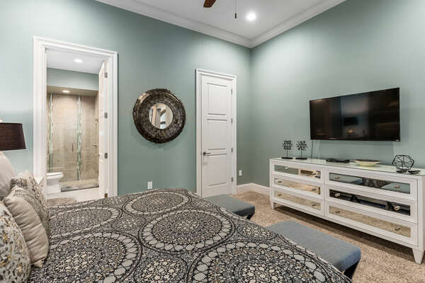 Admire the detail of each bedroom