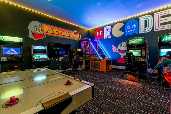 Spend hours in the game room!