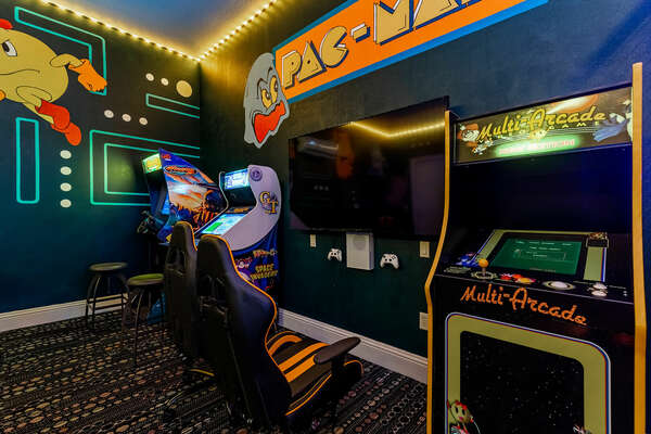 From classic arcade games to modern video games