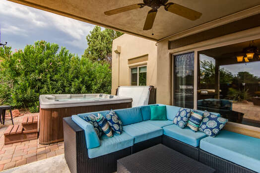 Patio Sectional and 40