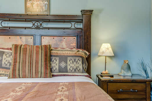 Main Level Bedroom 3 with a Queen Bed, 40