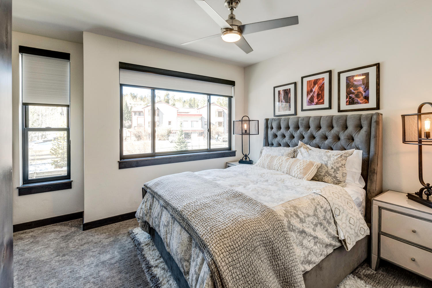 Master bedroom suite 2 with views