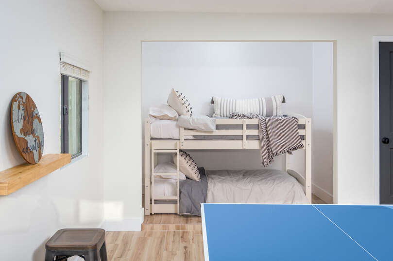 Twin Bunkbed in Game Room