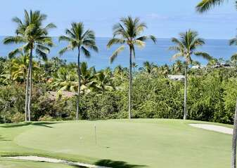 Ocean and Fairway Views from the Lanai at Country Club Villas 334