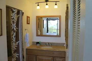 Bathroom with Vanity and Mirror