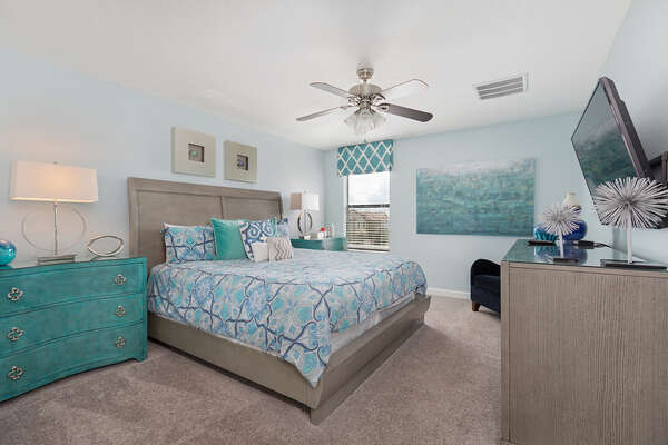 Feel right at home in the upstairs master suite