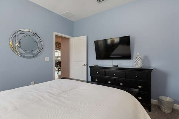 Relax and watch a movie on your own bedroom TV