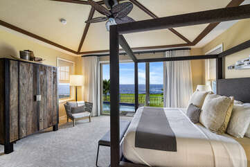 Master bedroom includes Cal-King bed