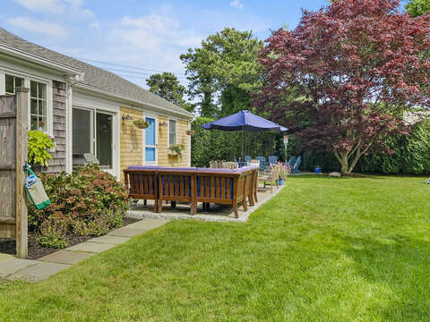 Outdoor Living - three options! 40 Tip Cart Chatham Cape Cod - New England Vacation Rentals