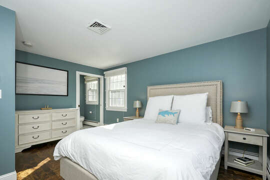 Queen Bedroom at 40 Tip Cart Chatham Cape Cod - New England Vacation Rentals