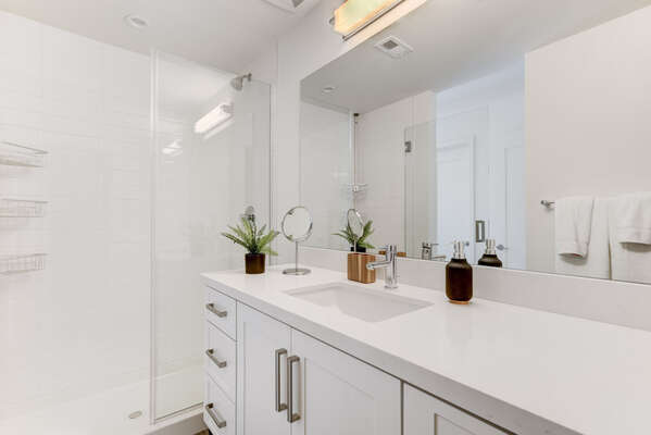 Master Bathroom on the Second Level of BANKERSHILL2060