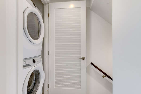 In-Home Washer/Dryer for Guest Use